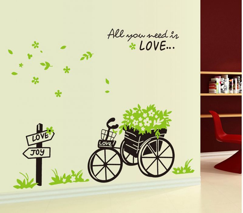 Buy Decals Arts Bandwagon Large House Decoration Wall Sticker online