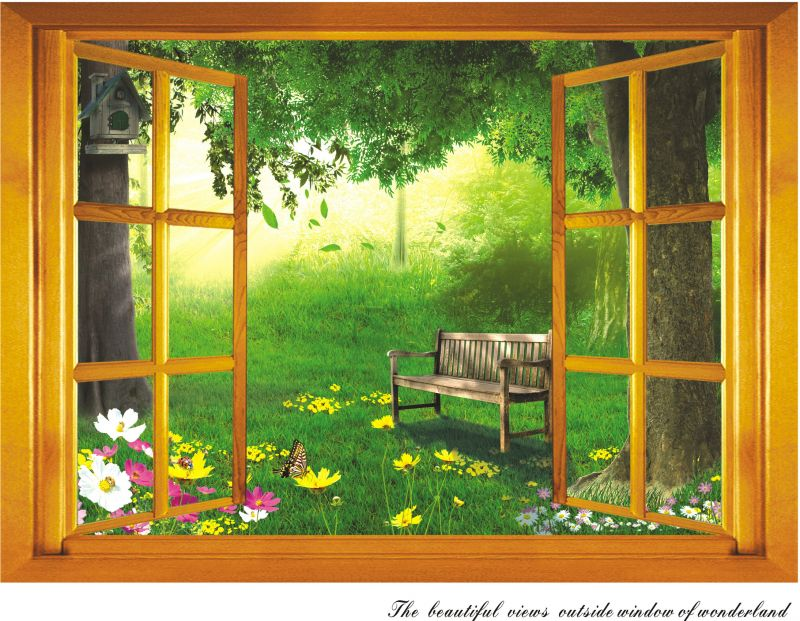 Buy Decals Arts Wall Sticker Window For Home Background online