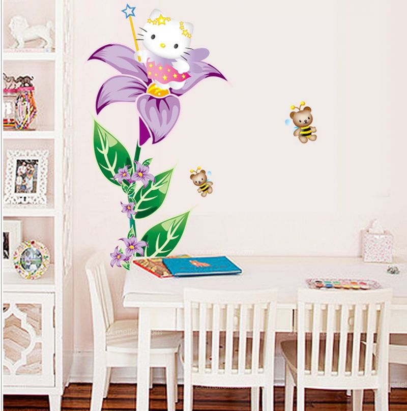 Buy Decals Arts Free Shipping Removable Hello Kitty Wall Sticker Online Part 34
