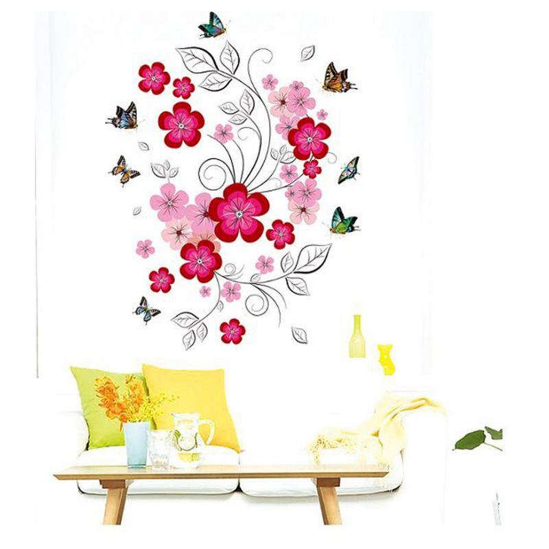 Buy Decals Arts 3d Butterflies Romantic Bedroom Living Room Wall Stickers Online