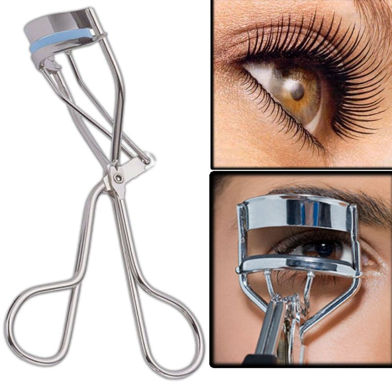 Buy Professional Eyelash Curler Eyebrow Tweezers Beauty Tool Makeup