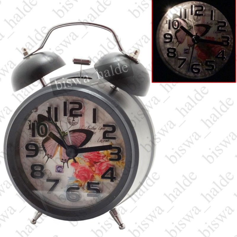 Buy Exclusive Fashionable Analog Gift Table Wall Desk Self Clock Watch With Alarm-85 online