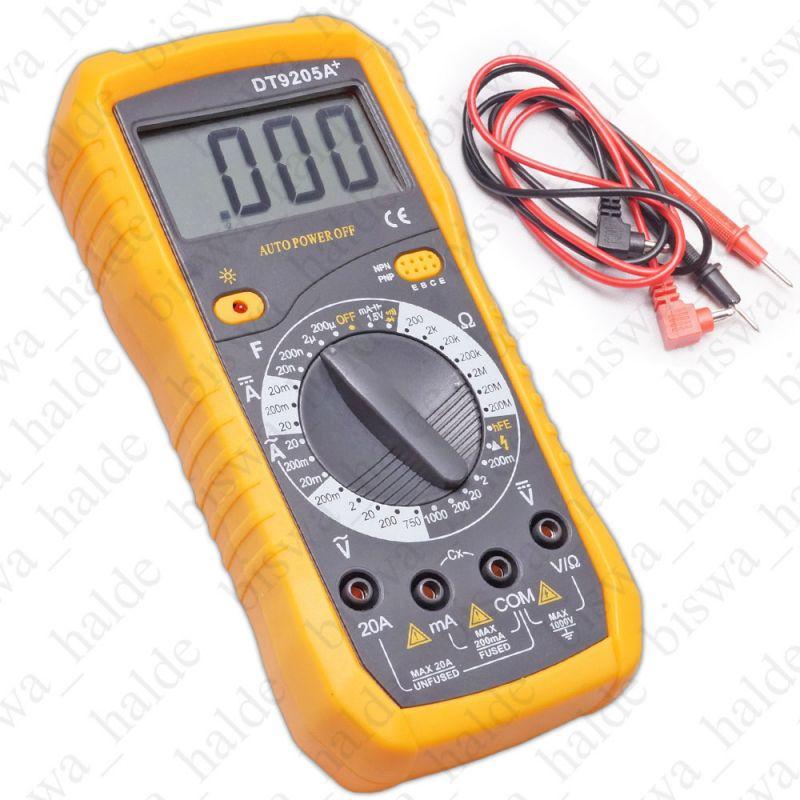 Buy LCD Digital Dt9205a Digital Multimeter Voltmeter Ohmmeter Ac/dc Ammeter Capacitance Tester-01 online