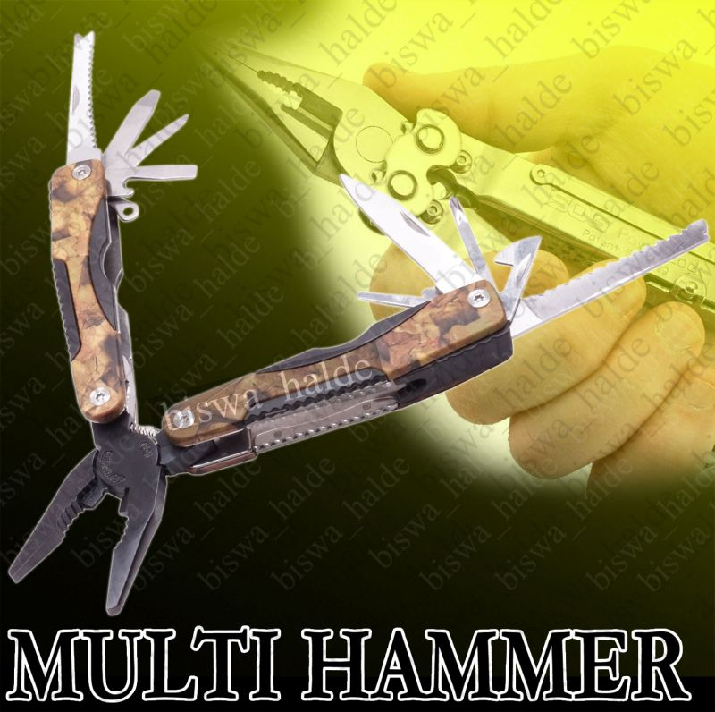Buy Multi Pliers Army Swiss Knife Multi Hammer Pocket Folding Multi Tool Knife Outdoor Camping Hammer-03 online