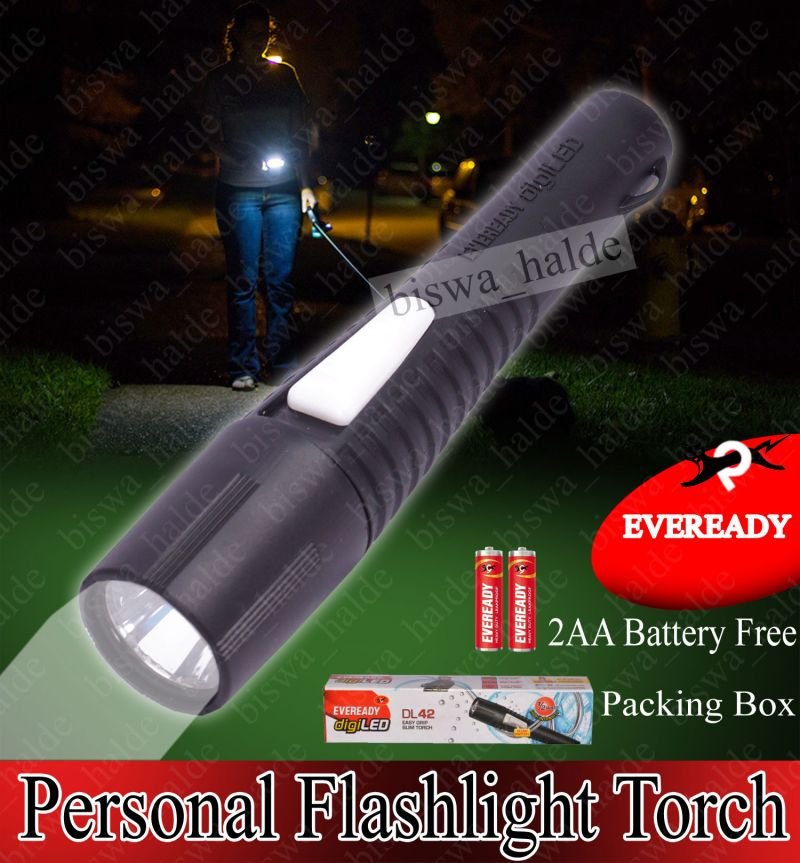 Buy Eveready Torch High Power Emergency 2aa Battery LED Torch Dl40 Josh Shokproof-30 online
