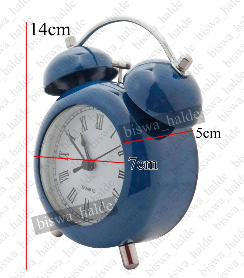 Buy Exclusive Fashionable Analog Gift Table Wall Desk Self Clock Watch With Alarm-93 online