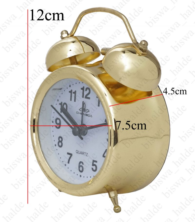 Buy Exclusive Fashionable Analog Gift Table Wall Desk Self Clock Watch With Alarm-74 online