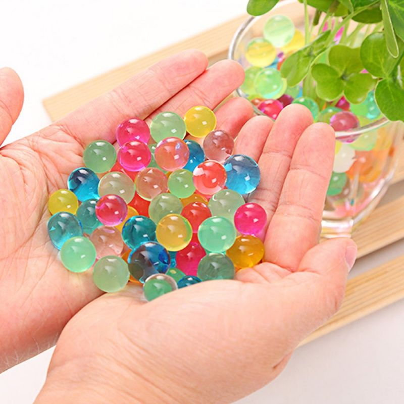 Buy Kuhu Creations Colorful Water Gel Balls. (5 Small Bags, Mix Color Bags online