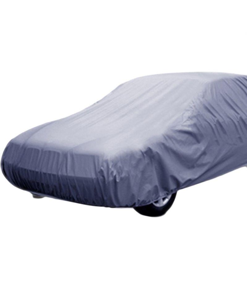 Buy Spidy Moto Elegant Steel Grey Color With Mirror Pocket Car Body Cover Skoda Octavia Old online