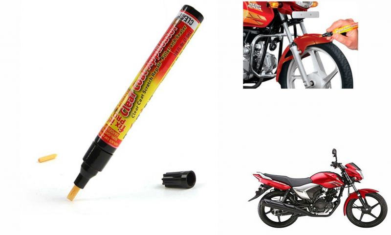 Buy Spidy Moto Auto Smart Coat Paint Scratch Repair Remover Touch Up Pen For Yamaha Saluto online