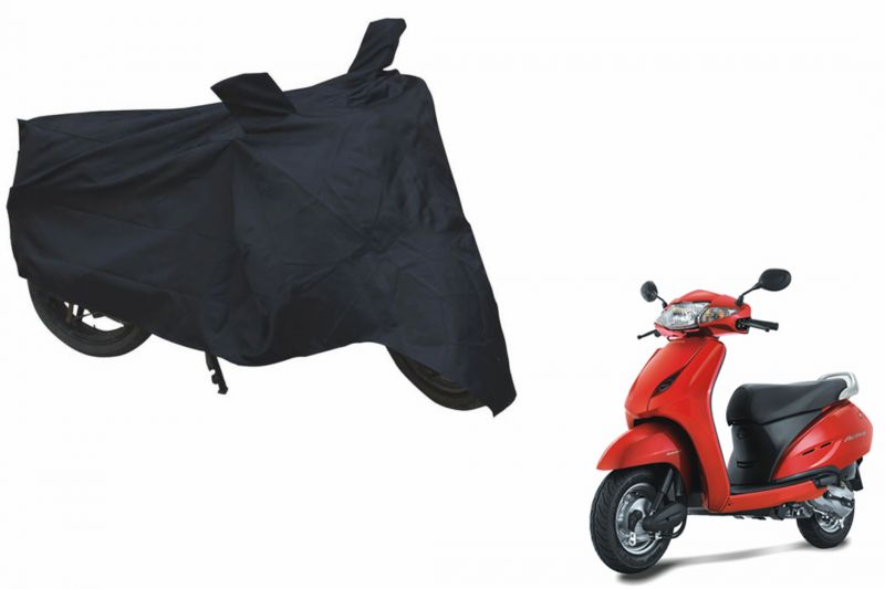 Buy Spidy Moto Sporty Champion Bike Body Cover Water Proof Black - Honda Activa online