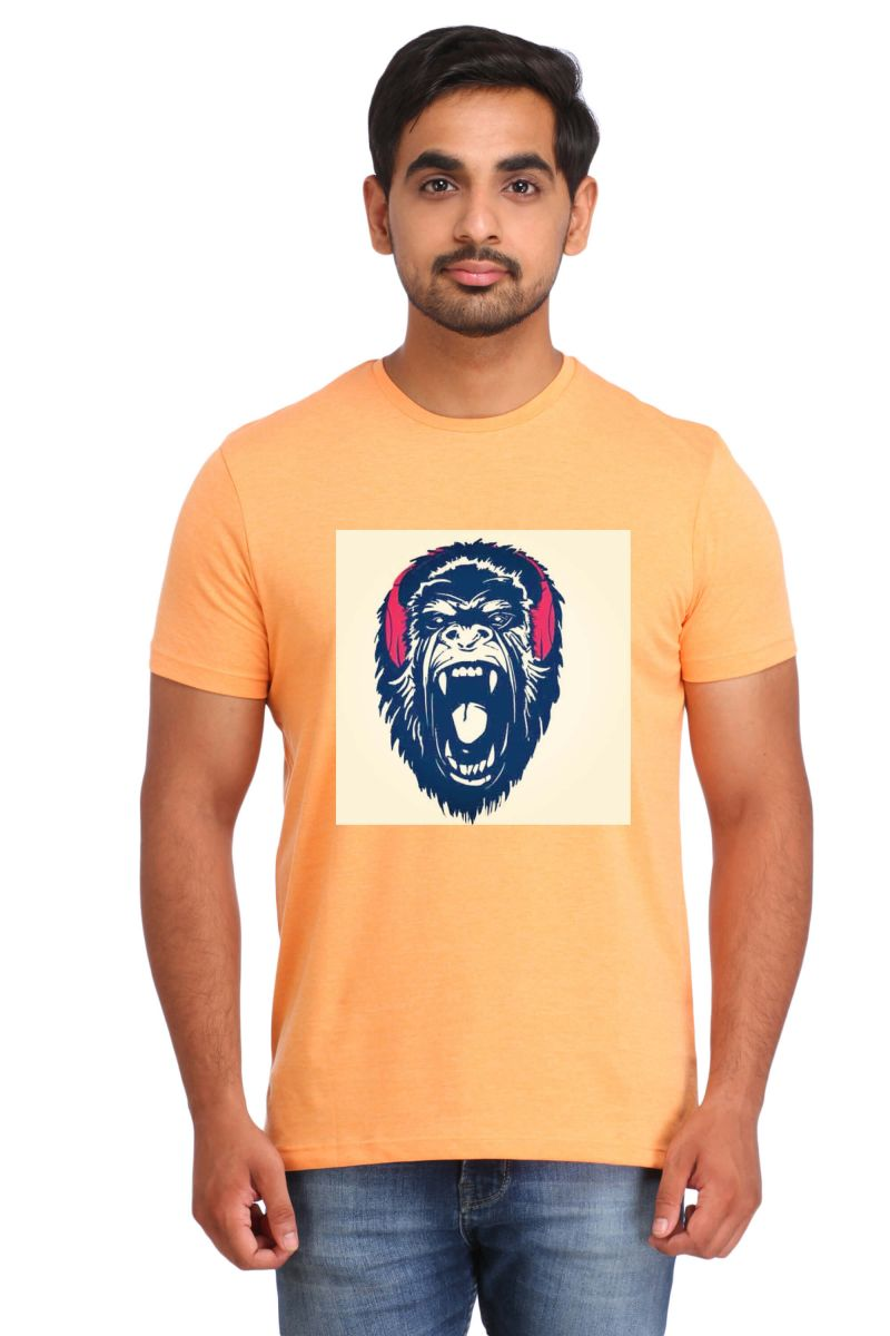 Buy Snoby Monkey Printed T-shirt (sby15464) online