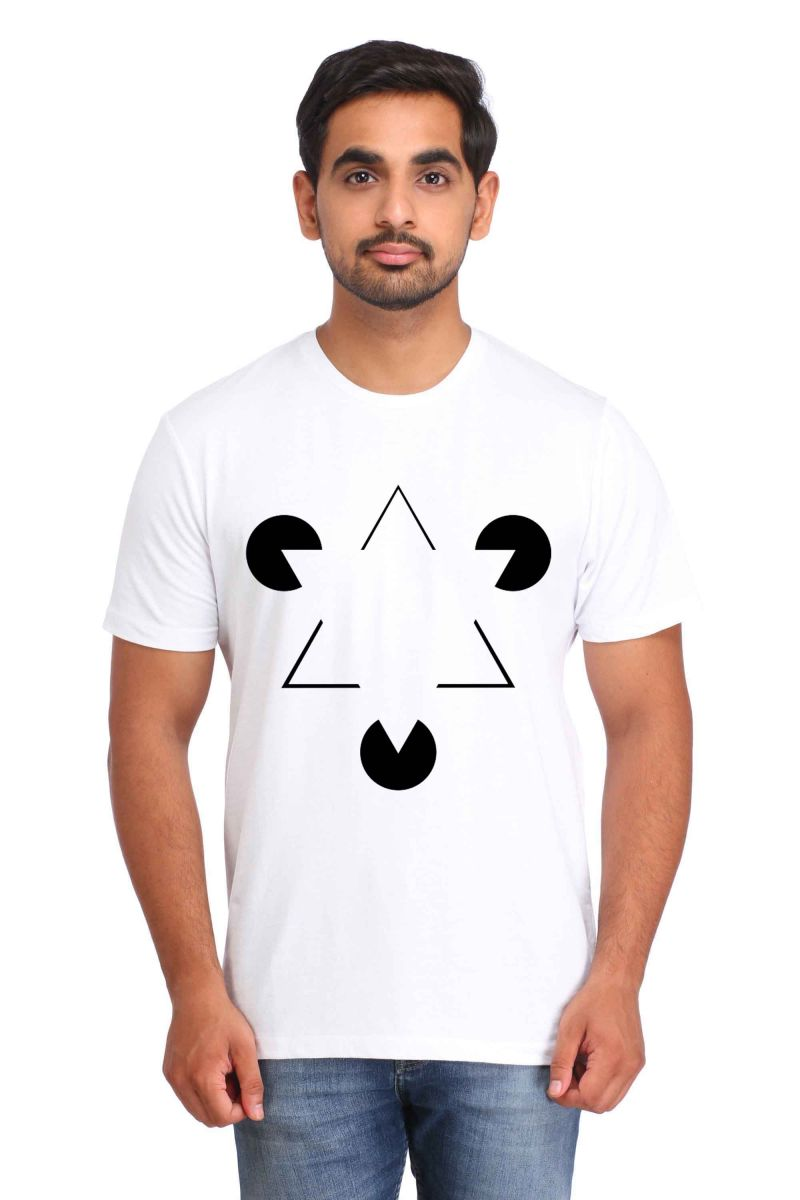 Buy Snoby Double Triangle Print T-shirt (sby17321) online
