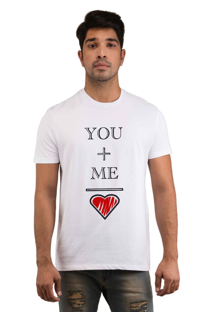 Buy Snoby Love Me Printed T-shirt(sby17994) online
