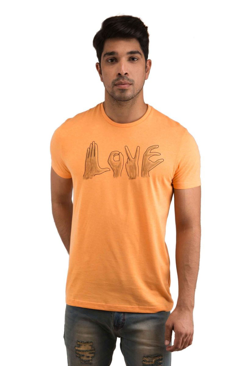 Buy Snoby Love Printed T-shirt(sby18104) online