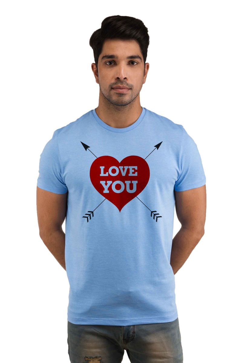 Buy Snoby Love You Printed T-Shirt online