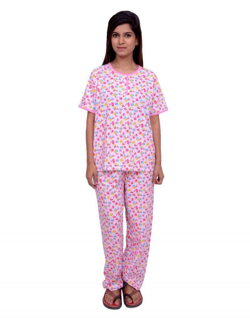 Buy Snoby Full Print Cotton Nightwear (sby5010) online