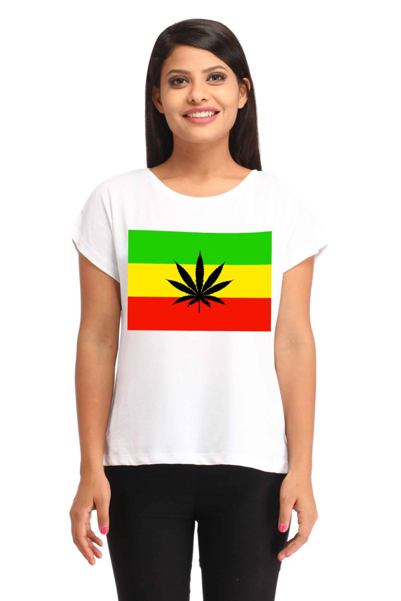Buy Snoby Flag Printed T-Shirt online