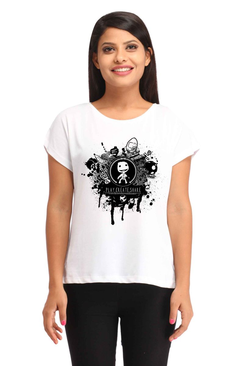 Buy Snoby Digital Printed T-shirt (sbypt1758) online