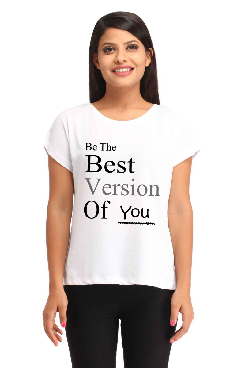 Buy Snoby Best Version Print T-shirt (sbypt1792) online