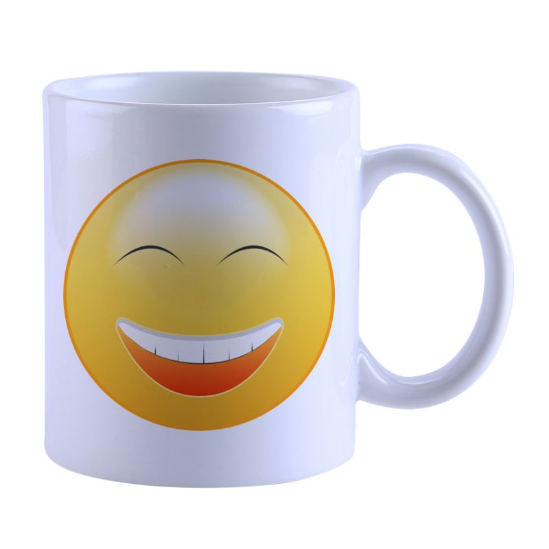 Buy Snoby Smily Face Printed Mug online