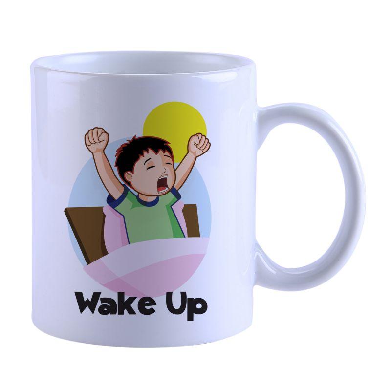 Buy Snoby Wake Up Printed Mug online