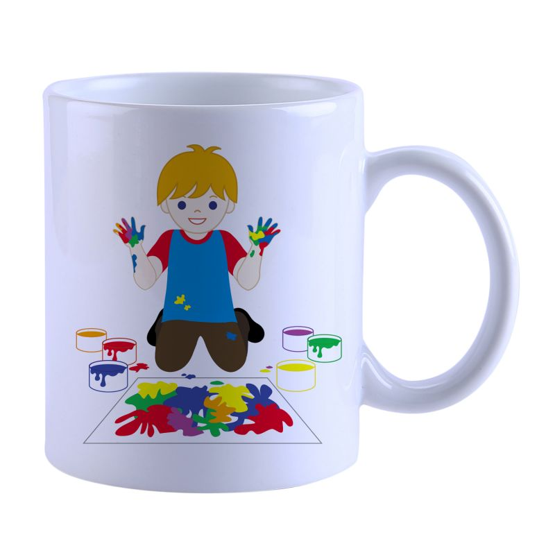 Buy Snoby Boy Painting Printed Mug online