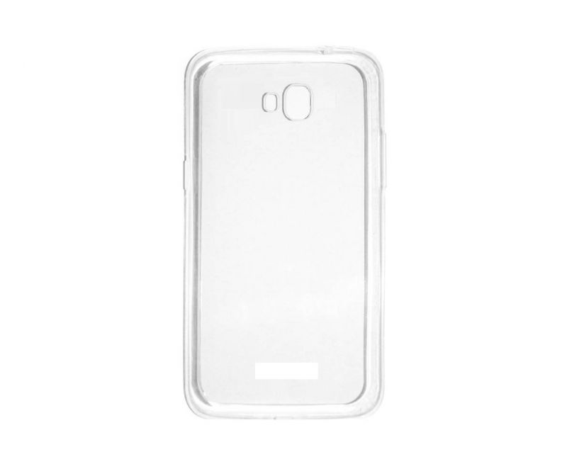 Buy Snoby Silicon Back Cover For Micromax Canvas Spark 3 Q385 (transparent) (setm_154) online
