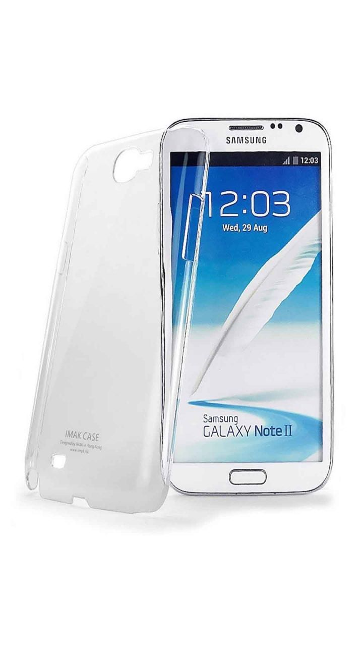 Buy Snoby Silicon Back Cover For Samsung Galaxy Note 2  (Transparent) online