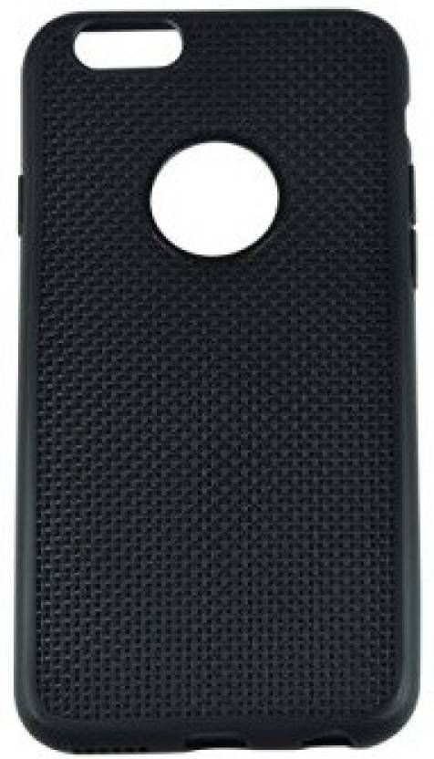 Buy Snoby Silicon Back Cover For Apple Iphone 6/6S (Black) online