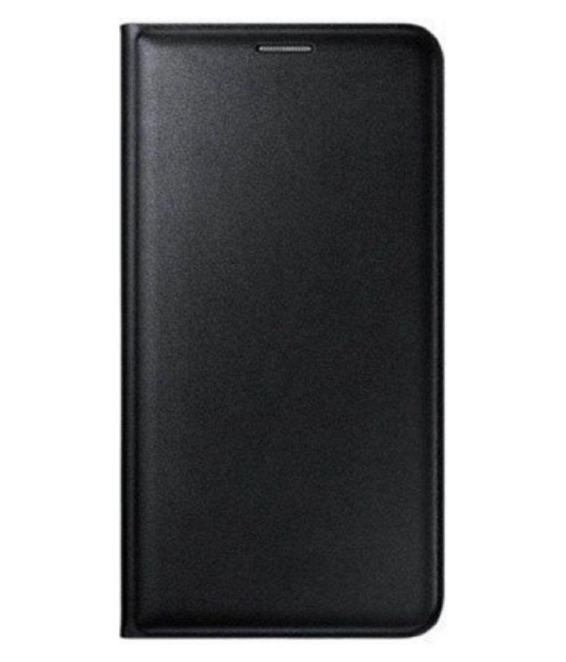 Buy Snoby Leather Flip Cover For Motorola Moto G4 (black) (setm_214) online