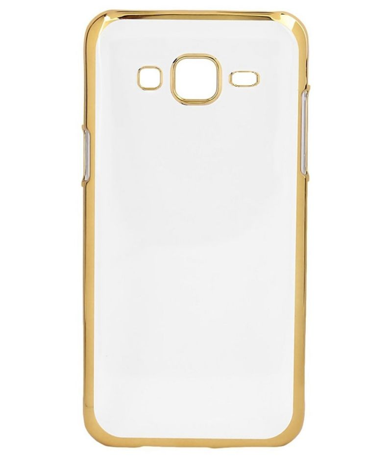 Buy Snoby Silicon Back Cover For Samsung Galaxy On7 (Transparent) online