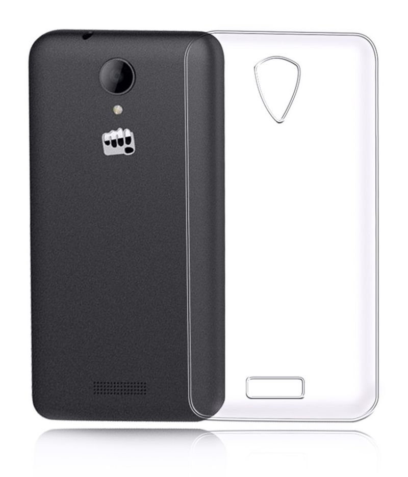 Buy Snoby Silicon Back Cover For Micromax Canvas Pace 4G Q416 (Transparent) online