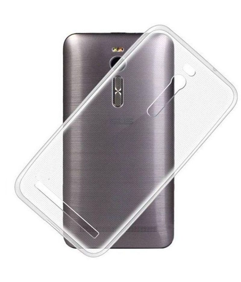 Buy Snoby Silicon Back Cover For Asus Zenfone 2 Ze551ml (transparent) (setm_67) online