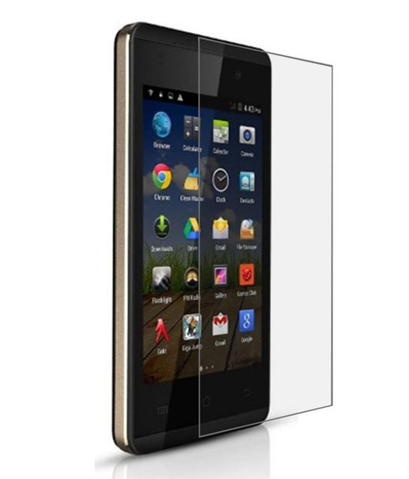 Buy Snoby Crystal Tempered Glass Guard For Micromax Canvas Fire A093 (sett_05) online
