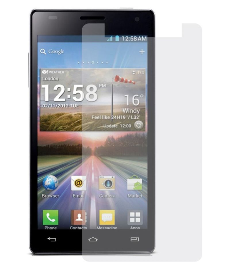 Buy Snoby Crystal Tempered Glass Guard For Lava Iris A52 online