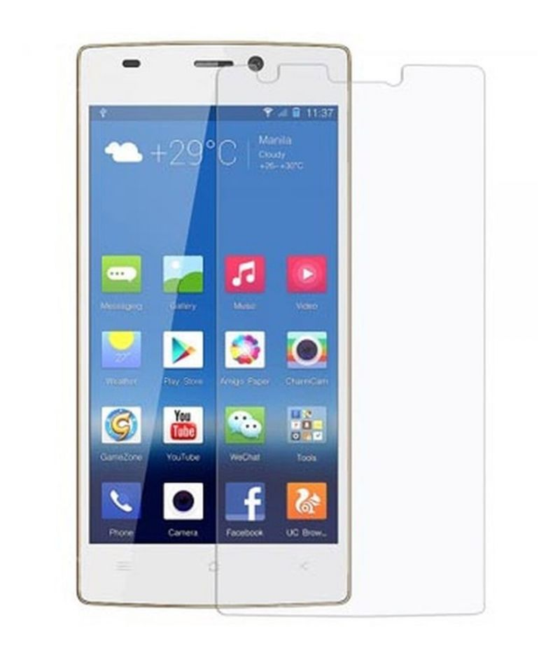 Buy Snoby Crystal Tempered Glass Guard For Gionee M2 (sett_26) online