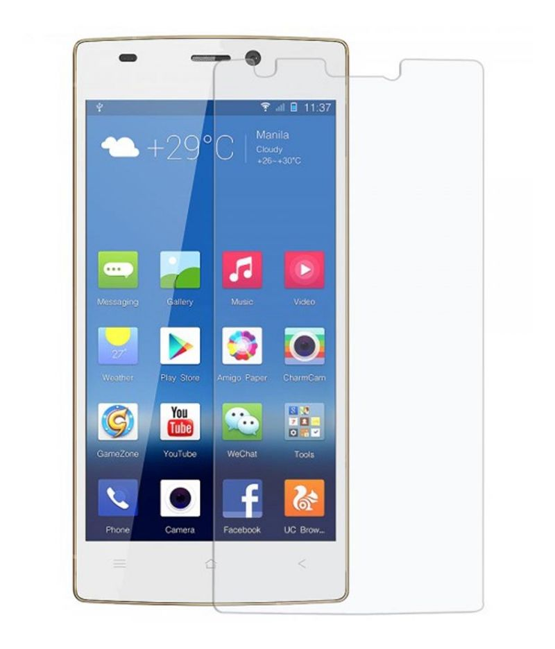 Buy Snoby Crystal Tempered Glass Guard For Gionee Elife S5.5 online