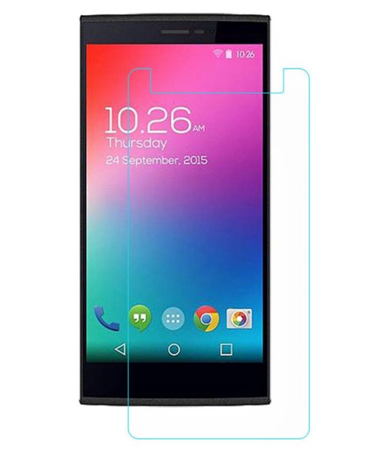 Buy Snoby Crystal Tempered Glass Guard For Micromax Canvas Play 4G Q469 (sett_86) online