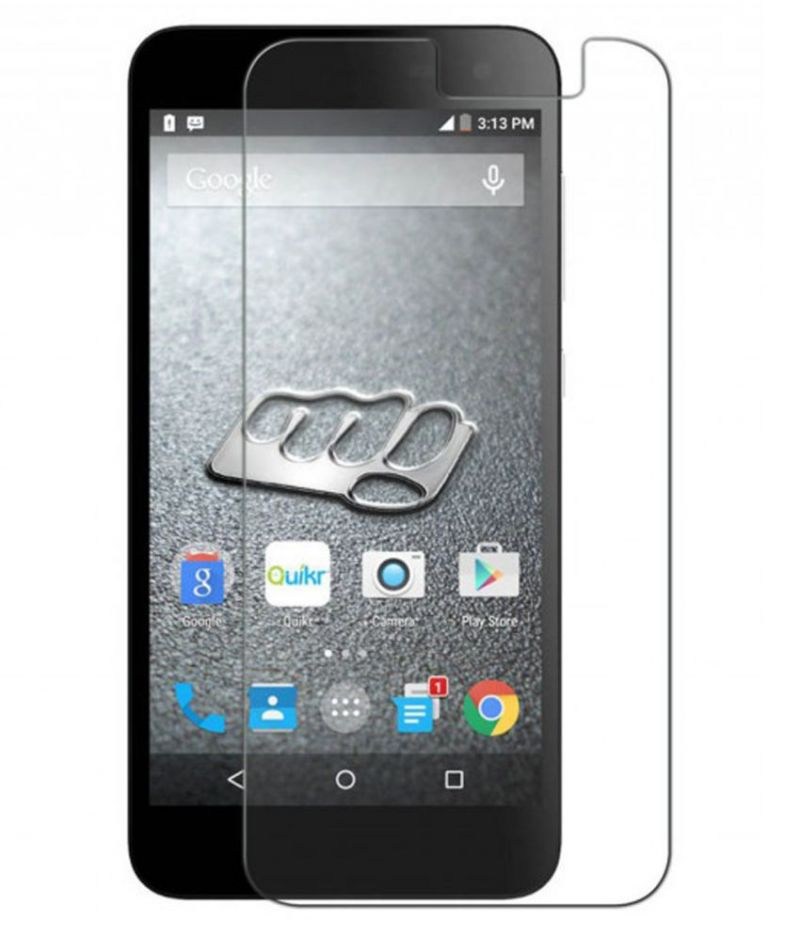 Buy Snoby Crystal Tempered Glass Guard For Micromax Canvas Blaze Q400 online