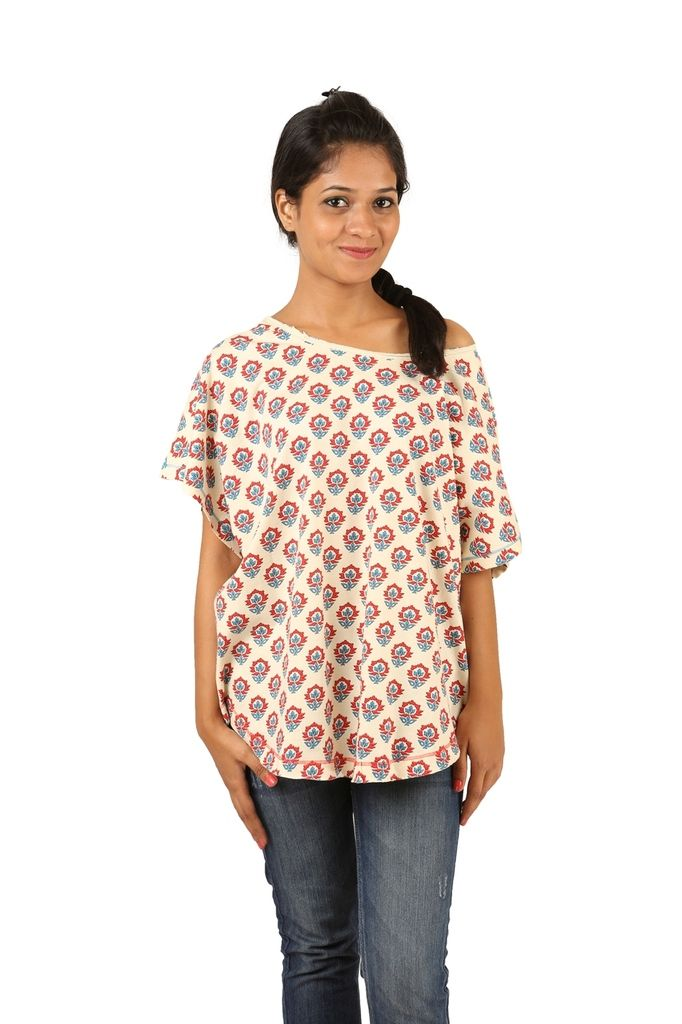 Buy Indricka White Color Top For Women. online