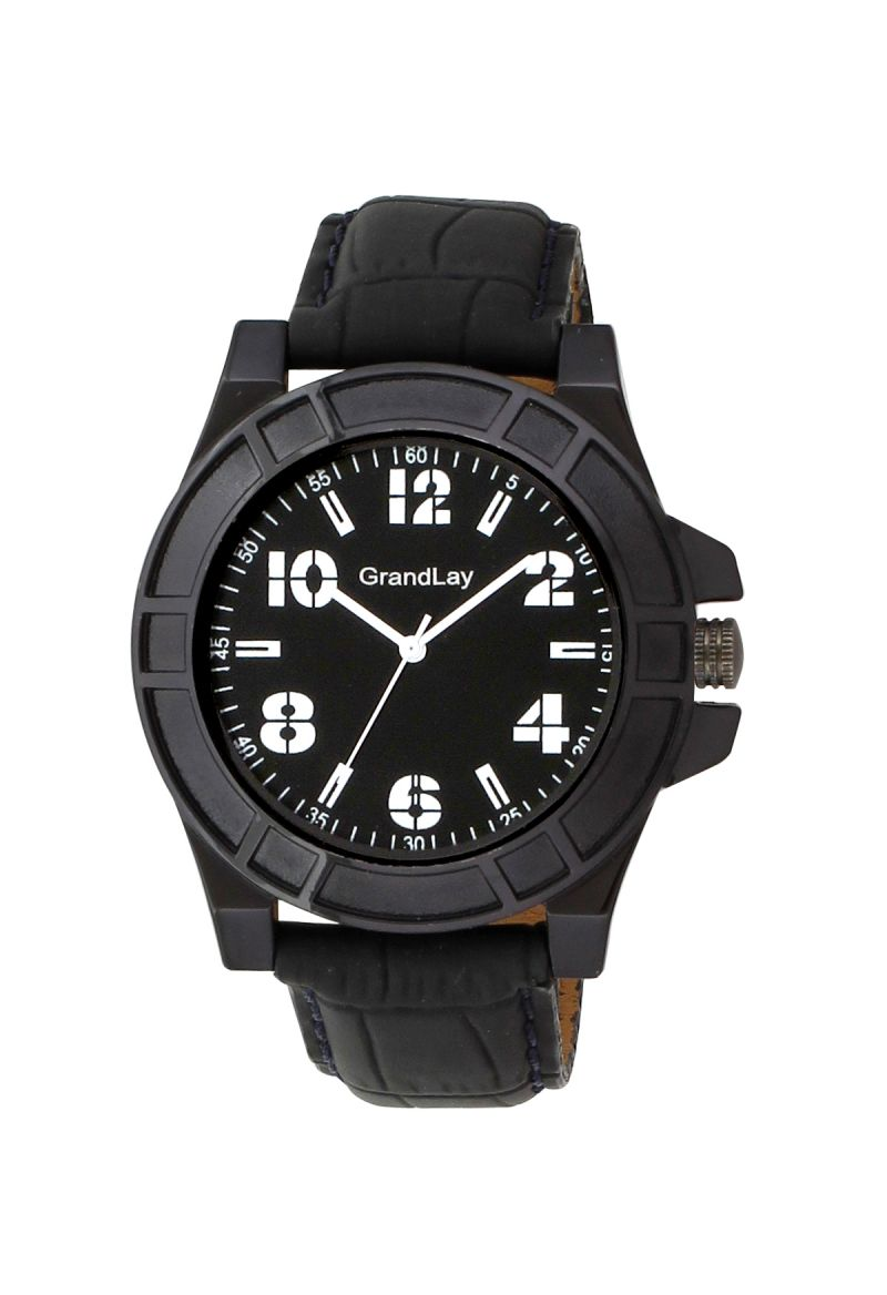 Buy Grandlay  Black Watch For Men online