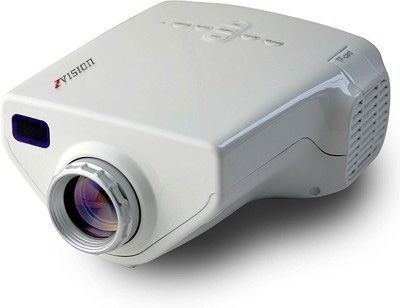 Buy Zvision HD LED Projector 10-100 Inch TV DVD PC With SD USB AV In VGA Hdmi Port online