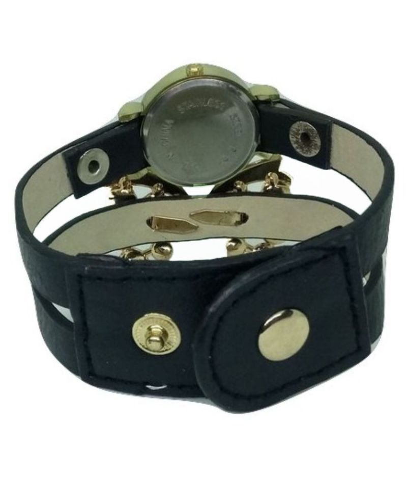 a41b0aa70c3 Buy Fap Analog Butterfly Design Black Colour Womens Ladies Girls Watch  Online