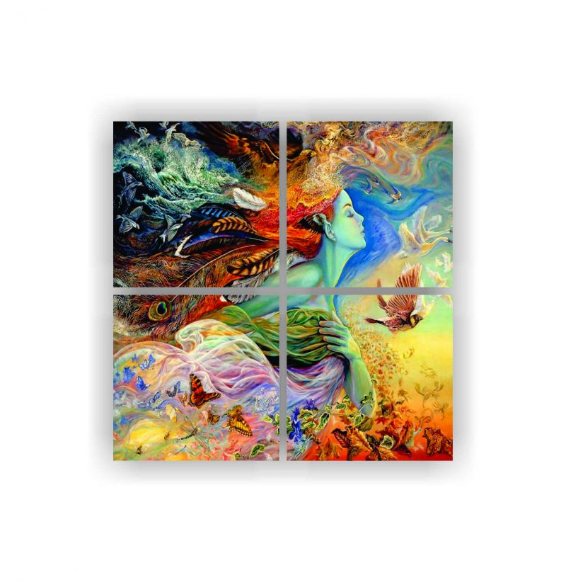 Buy Enamel Wall Painting Z4p1) online