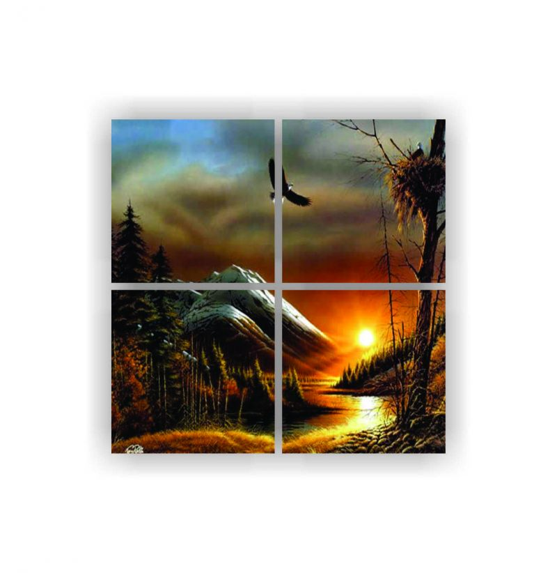 Buy Enamel Wall Painting Z4p10) online