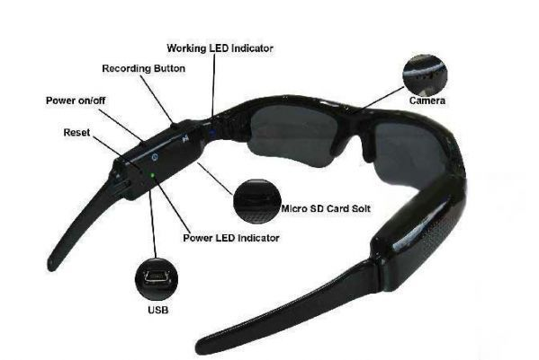 Buy Spy Camera Sunglasses online