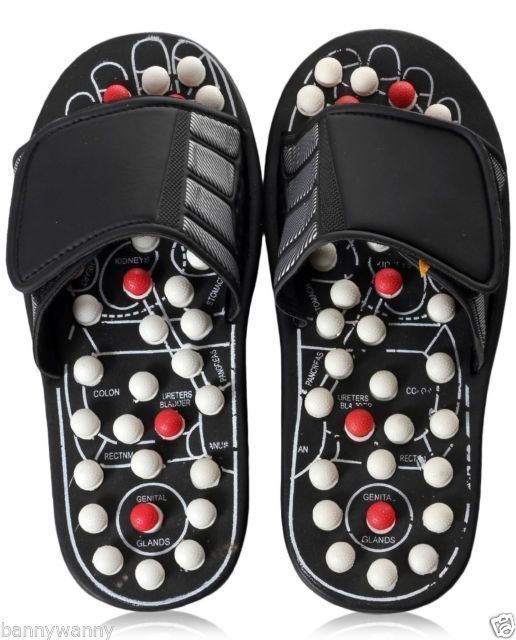 Buy Vinayaka Accu Paduka Foot Massager Acupressure Massage Slippers Leg Foot Massager online