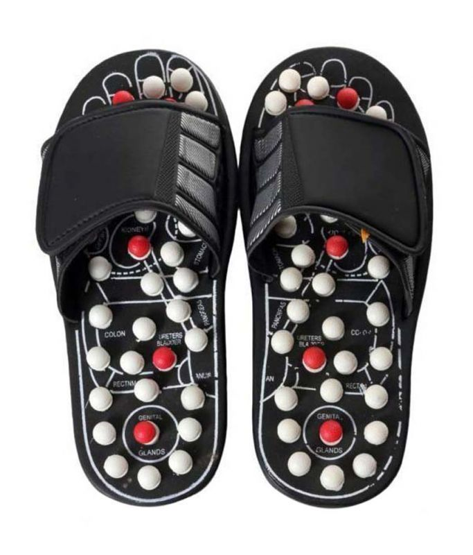 Buy Accu Paduka Acupressure Spring Action Massage Slippers For Full Body Accupr online