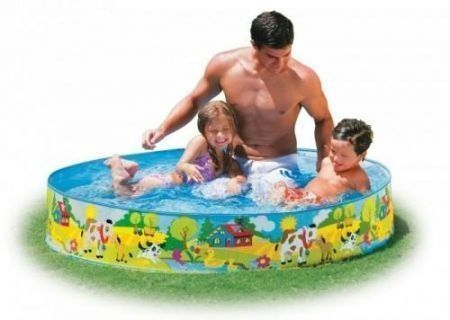 Buy Intex Swimming Pool 4 Feet Without Air - 58474 online
